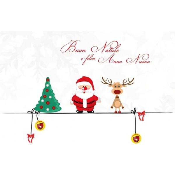 Immagini Biglietti Natale.Biglietti Natalizi D Auguri Modello G