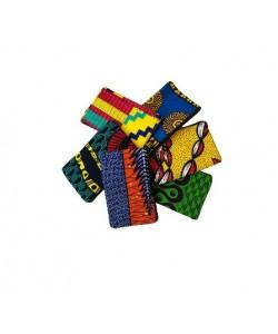 astucci pochette africani kitenge