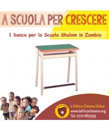 Un banco per la scuola Shalom