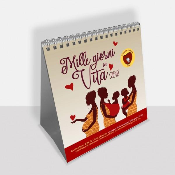 calendario 2018 da Tavolo