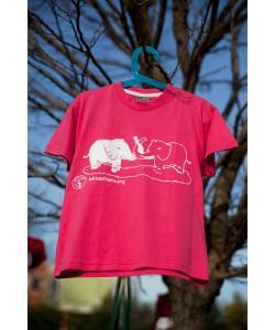 T-Shirt Bimbo In Cotone