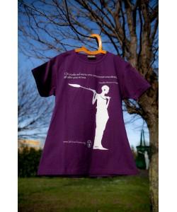 "T-Shirt Donna ""Masai"" in Cotone"